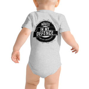 In My Defence One Piece T-Shirt