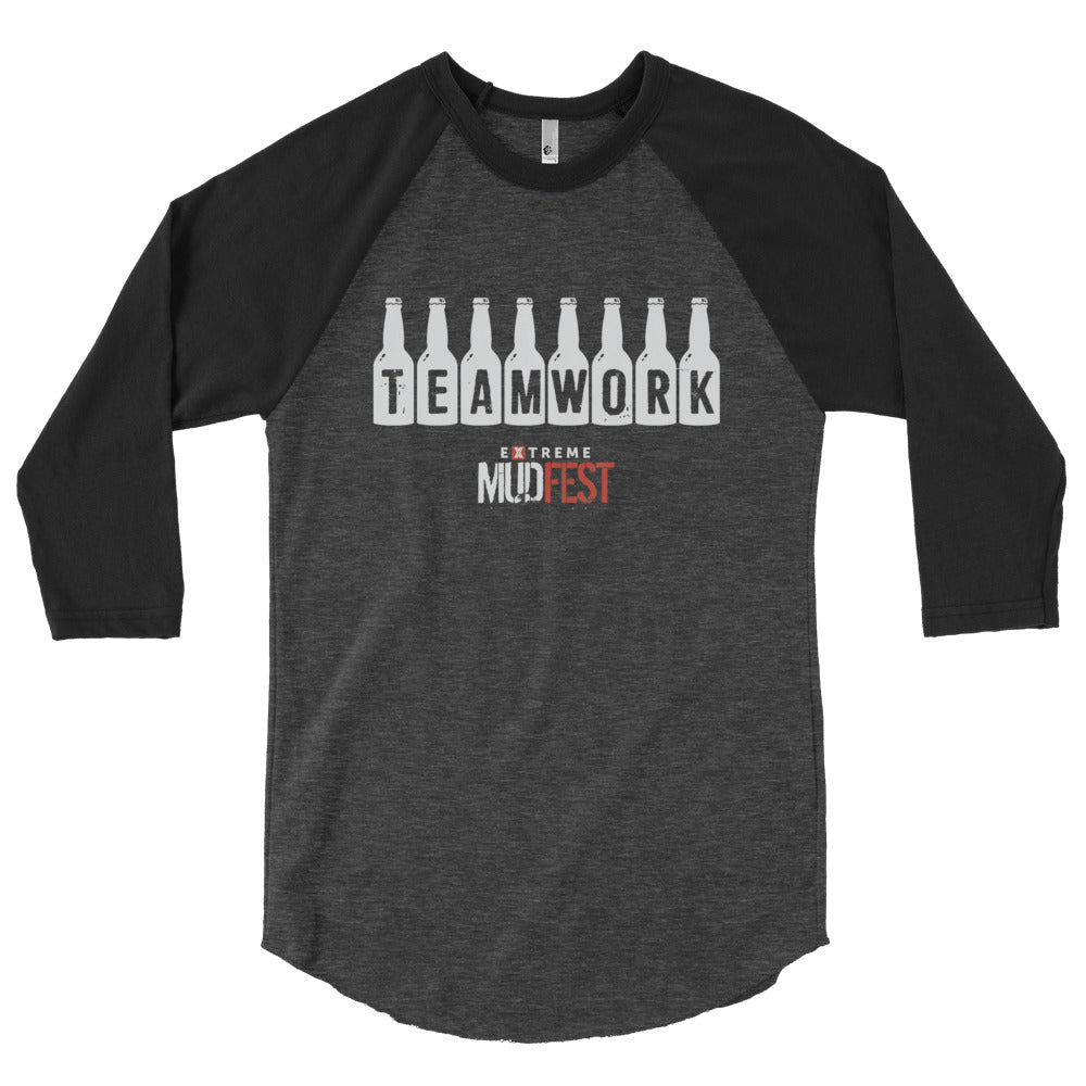 Teamwork 3/4 sleeve raglan shirt