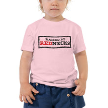 Load image into Gallery viewer, Raised By Rednecks Toddler Short Sleeve Tee