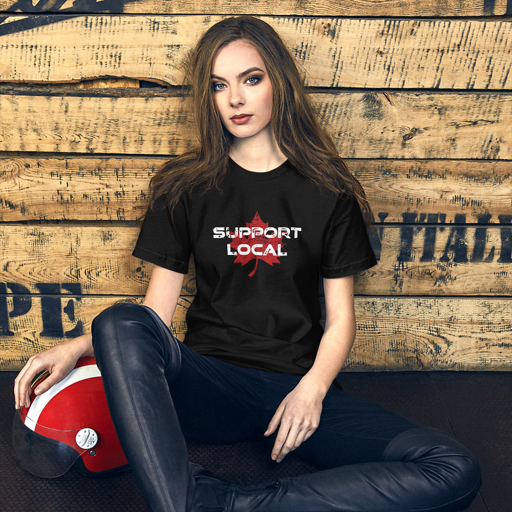 Support Local Short-Sleeve Unisex T-Shirt