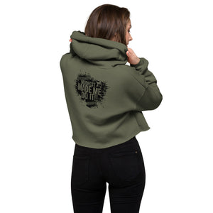 Mudfest Made Me Do It Crop Hoodie