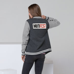 Mudfest Women's Letterman Jacket