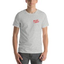 Load image into Gallery viewer, Mullets4Meals Canadian Flag Short-Sleeve Unisex T-Shirt