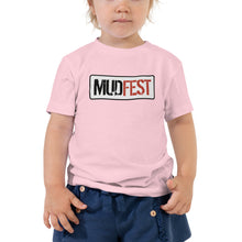 Load image into Gallery viewer, Mudfest Toddler Short Sleeve Tee