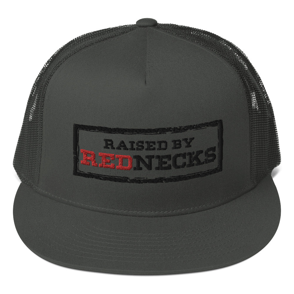 Raised By Rednecks Mesh Back Snapback
