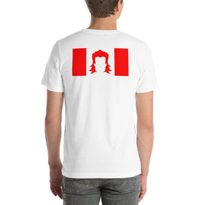 Mullets4Meals Canadian Flag Short-Sleeve Unisex T-Shirt