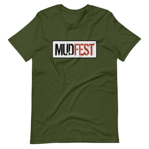 Mudfest Original Short-Sleeve Unisex T-Shirt