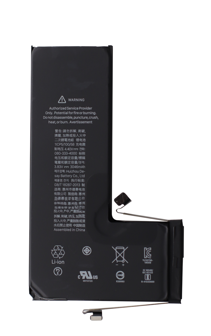 Reservedele iPhone 11 Pro Batteri (OEM) Original Kapacitet - YourepYourep