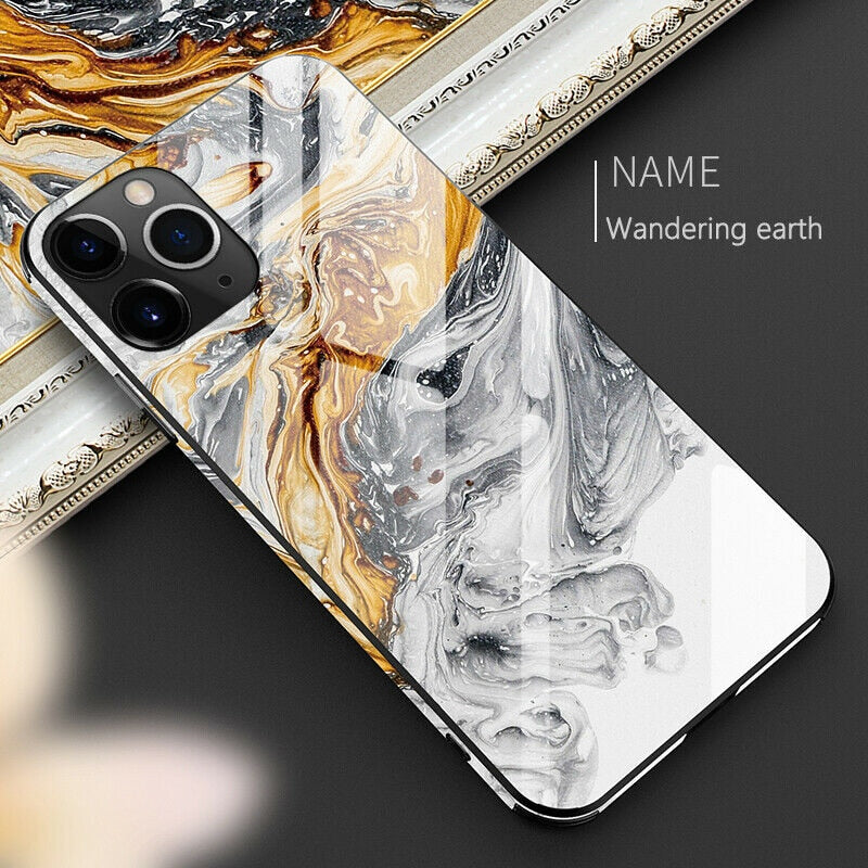 iPhone Cover - Wandering Earth Panserglas cover