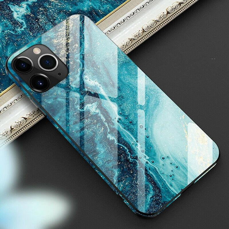 iPhone 8 Panserglas cover - Pacific
