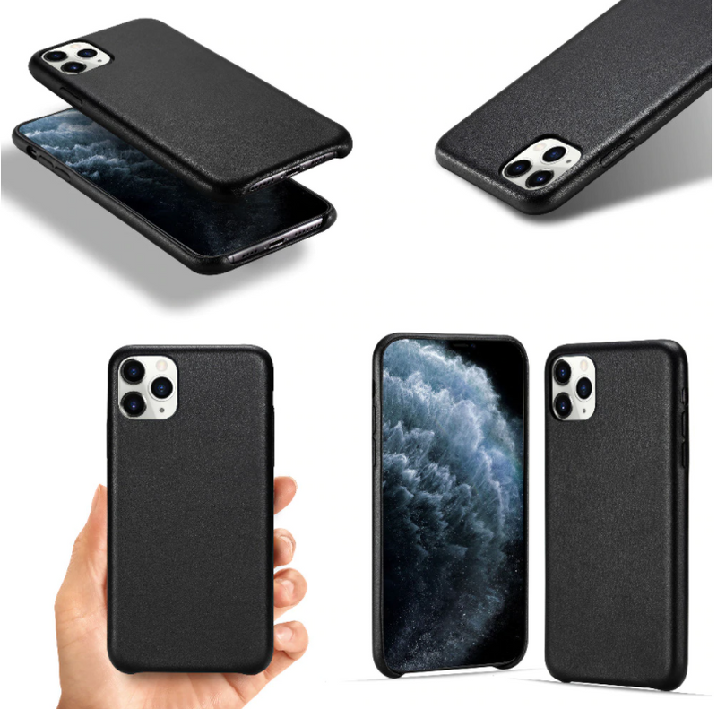 iPhone Cover - PU Læder sort - Yourep