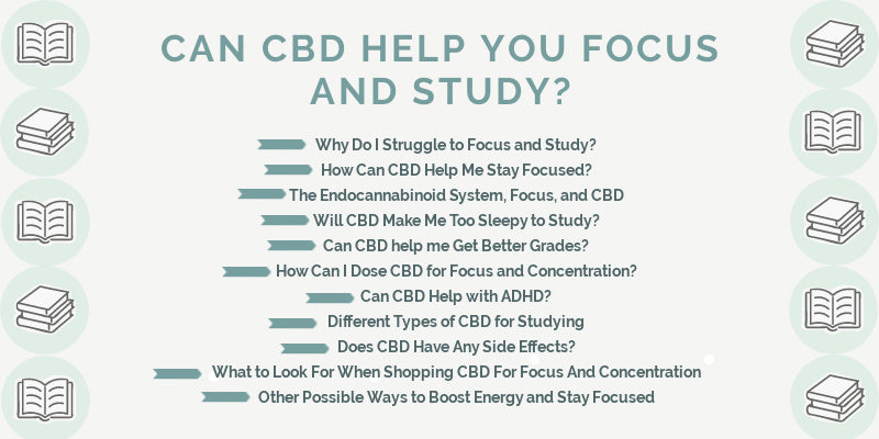 Can CBD Help You Focus and Study