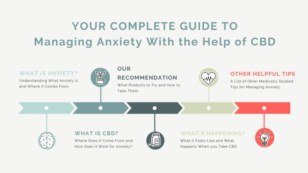 Complete Guide to Managing Anxiety with the Help of CBD