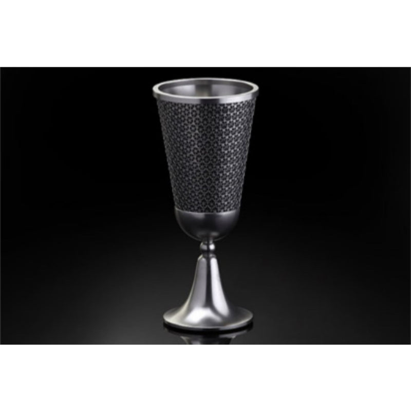 Lexi Kiddush Cup in Black by Metalace Art