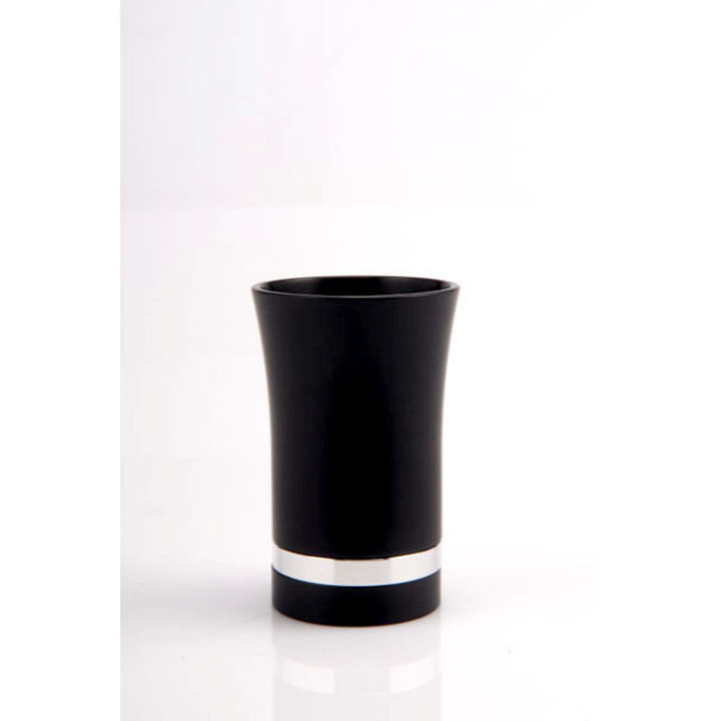 Small Kiddush Cup in Black by Agayof