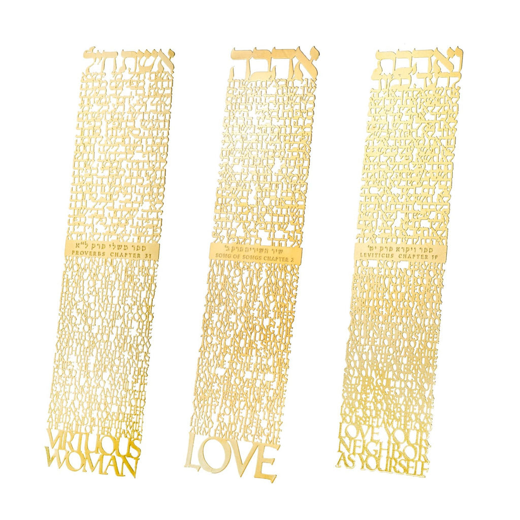 Bookmark - Virtuous Woman in Gold