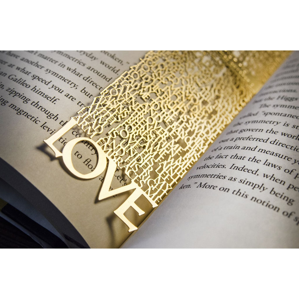 Bookmark - Solomon Love Song in Gold