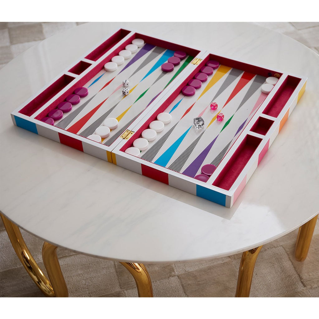 Backgammon Set in CHECKERBOARD by Jonathan Adler