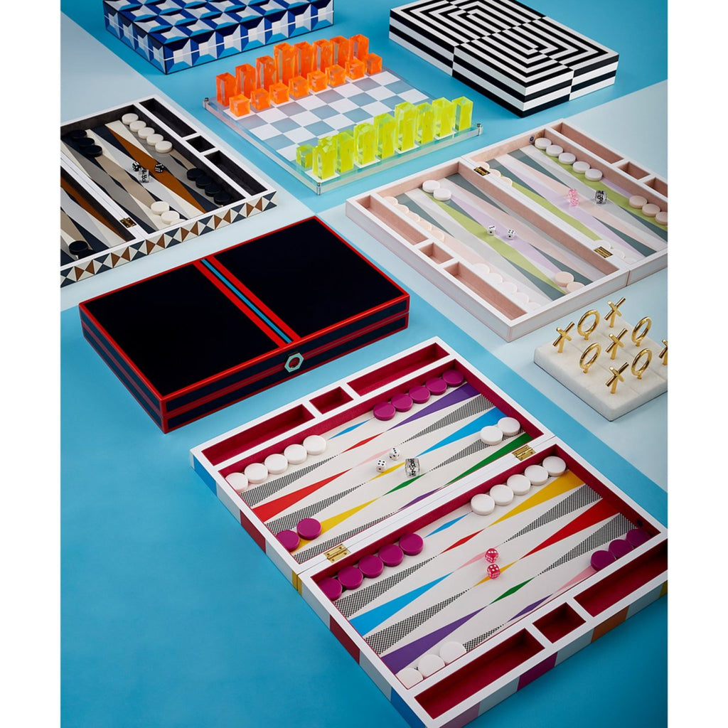 Backgammon Set in LACQUER by Jonathan Adler