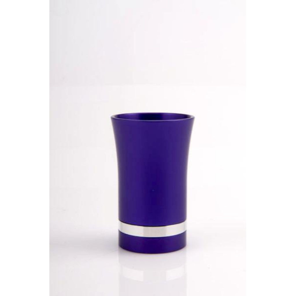 Small Kiddush Cup in Purple by Agayof