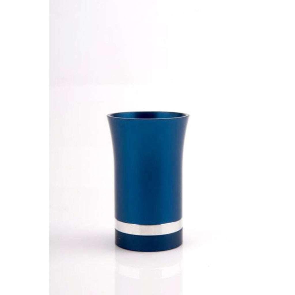 Small Kiddush Cup in Navy Blue by Agayof