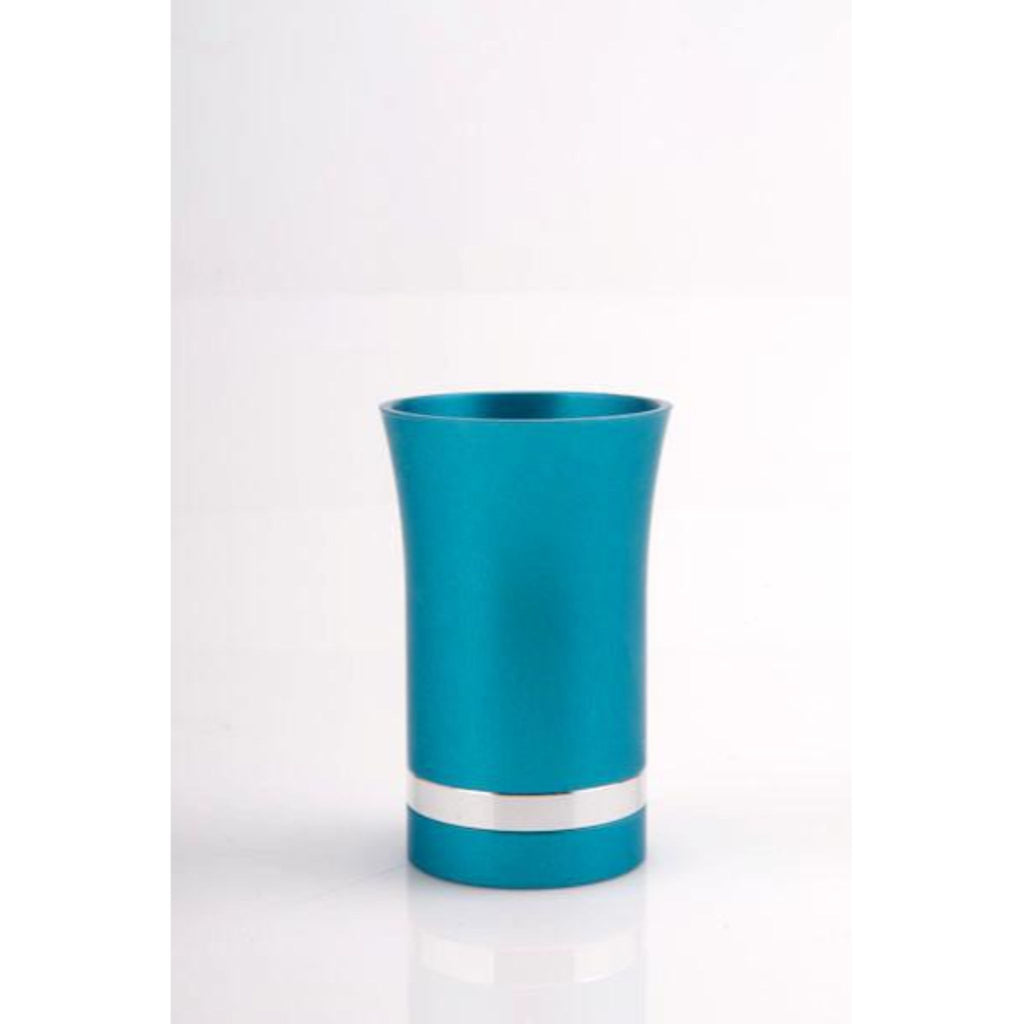 Small Kiddush Cup in Teal by Agayof