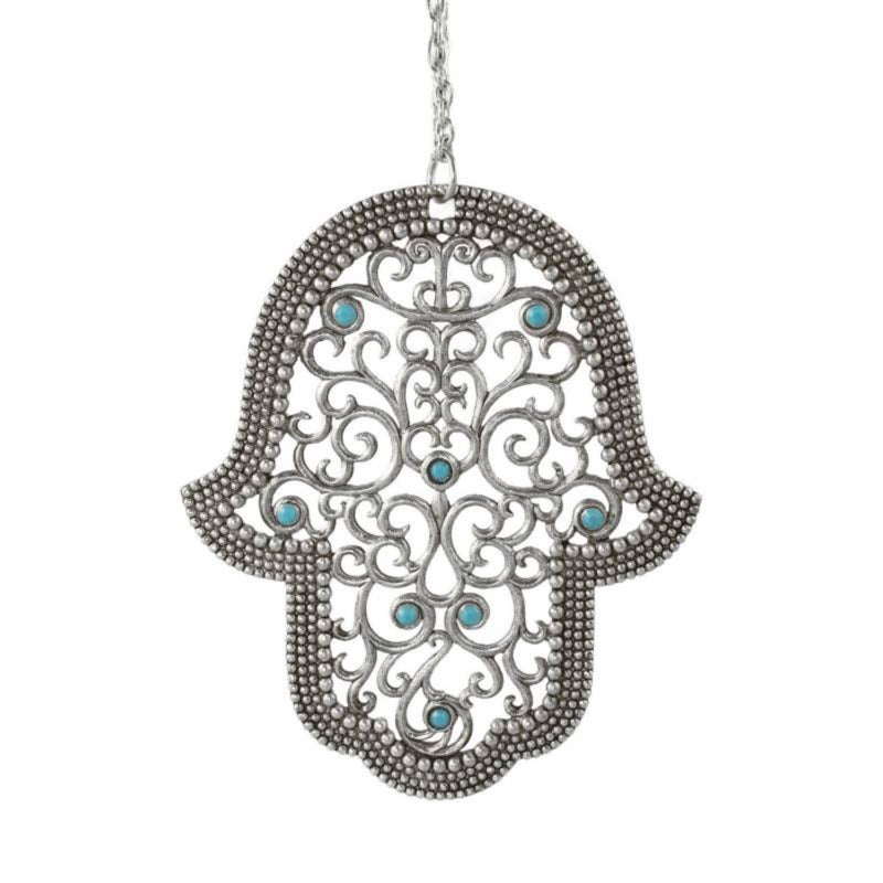 Atika Filigree Hamsa by Quest Collection