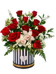 Red Elegance - Roses Arrangement