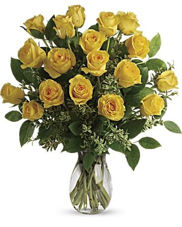 Say Yellow Roses Bouquet