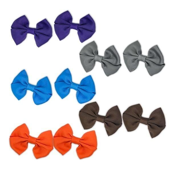 Set of 10 colorful hair clips - KiddyPlanet