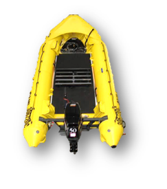 17ft 3in Rescue Rigid Hull Inflatable Boat