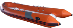 15ft 5in rigid hull inflatable boat