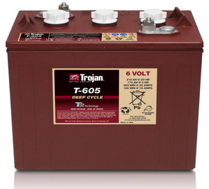 Battery, Wet, 6Vdc, 210Ah, C/20, W/Ca - Tennant 1227180