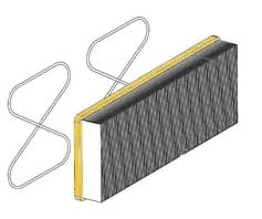 Air Filter - Kent - Poly - Kit - 1463161000