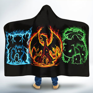 Pokemon Hooded Blanket-Adult/Kid