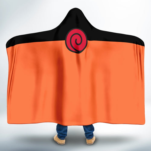 Naruto Shoppuden Hooded Blanket-Adult/Kid