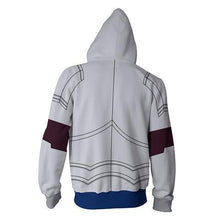 Load image into Gallery viewer, Fairy Tail Erza Zip Up Hoodie