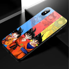 Load image into Gallery viewer, Dragon Ball Son Goku Anime Phone Case 10-Tempered Glass Cover