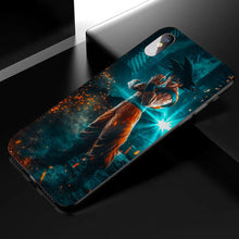 Load image into Gallery viewer, Jump Force Son Goku Anime Phone Case 1-Tempered Glass Cover