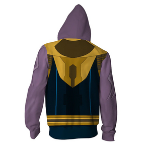 Avengers: Endgame Thanos Movie Zipper Hoodie