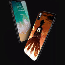 Load image into Gallery viewer, Attack On Titan Eren Yeager Anime Phone Case 2 -Tempered Glass Cover