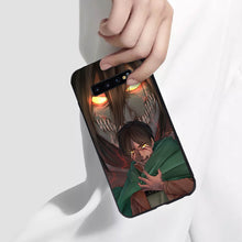 Load image into Gallery viewer, Attack On Titan Eren Yeager Anime Phone Case 3 -Tempered Glass Cover