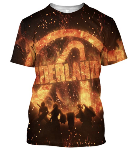 Borderlands 3 Embrace The Flame  T-Shirt