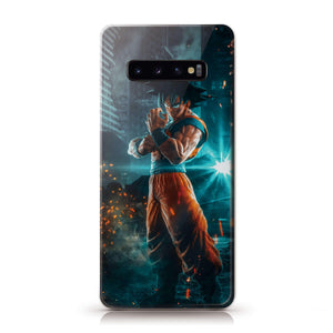 Jump Force Son Goku Anime Phone Case 1-Tempered Glass Cover