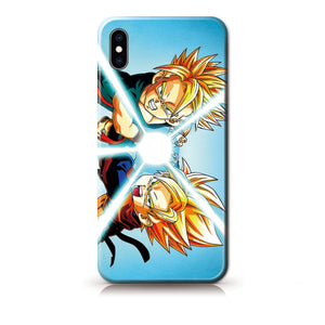 Dragon Ball Trunks&Son Gohan Anime Phone Case-Tempered Glass Cover
