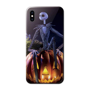Halloween Jack Skellington Anime Phone Case 03-Tempered Glass Cover