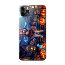 Load image into Gallery viewer, Halloween Anime Phone Case 01 -Tempered Glass Cover