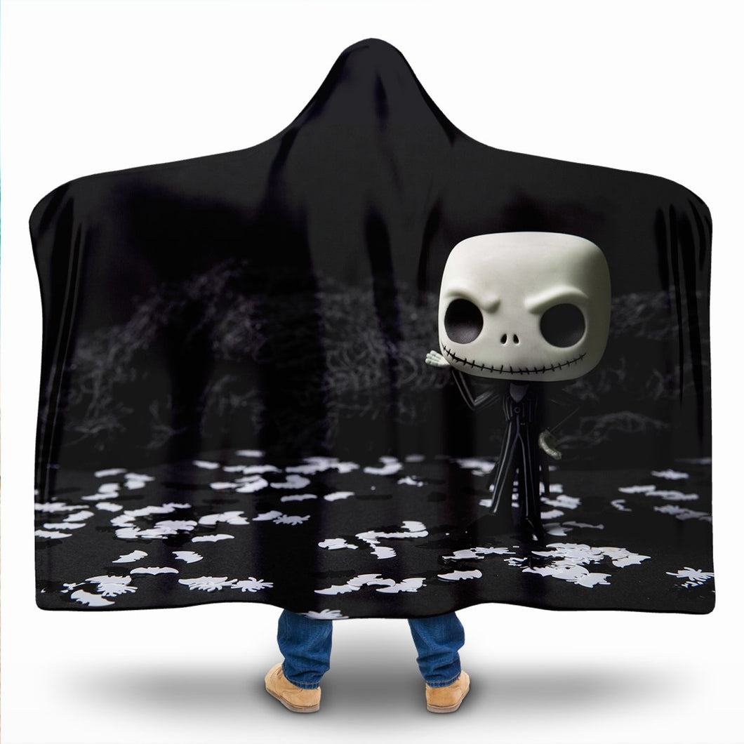 Halloween Hooded Blanket-Adult/Kid