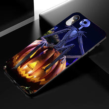 Load image into Gallery viewer, Halloween Jack Skellington Anime Phone Case 03-Tempered Glass Cover