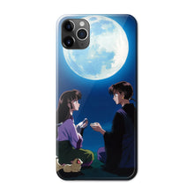 Load image into Gallery viewer, Miroku&Sango Anime Phone Case-Tempered Glass Cover